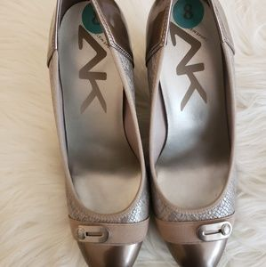 Anne Klein Sport Wedge Round Toe Heels